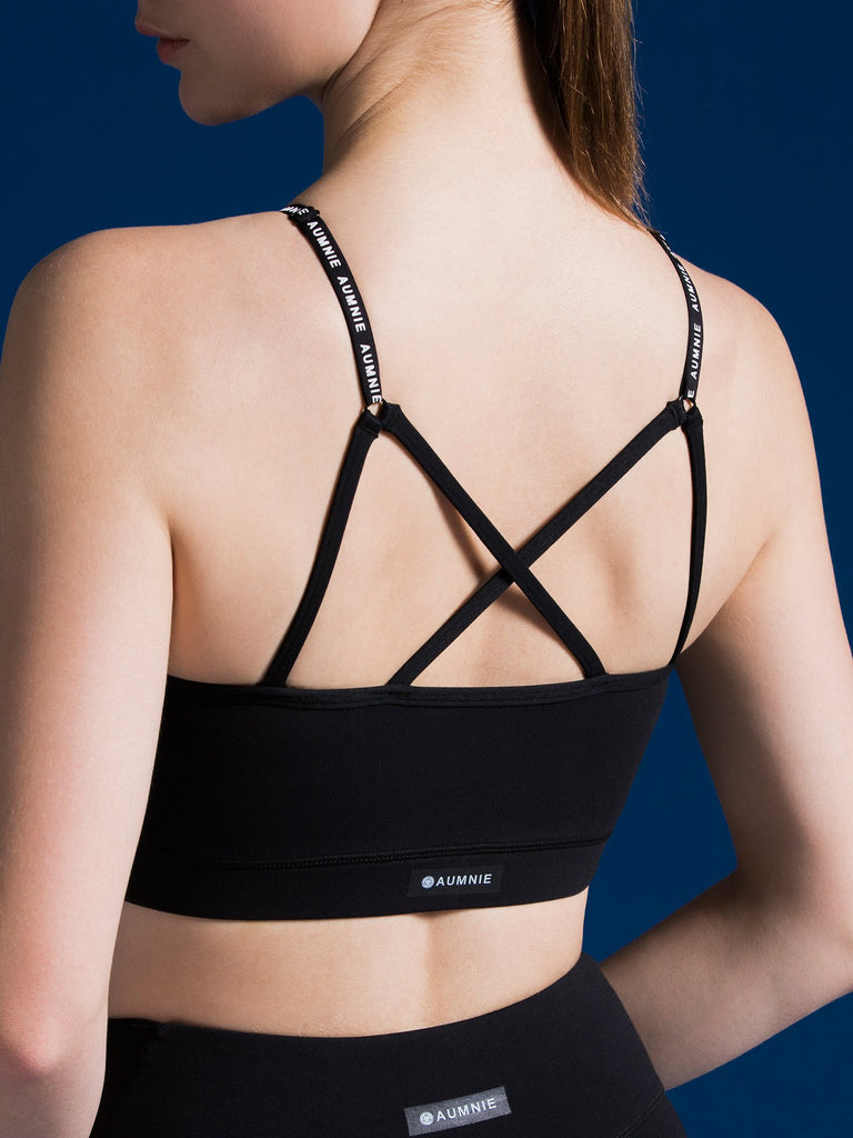 PINNACLE BRA, BLACK
