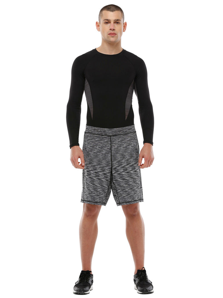 SPEED SHORT 2.0, B&W MELANGE