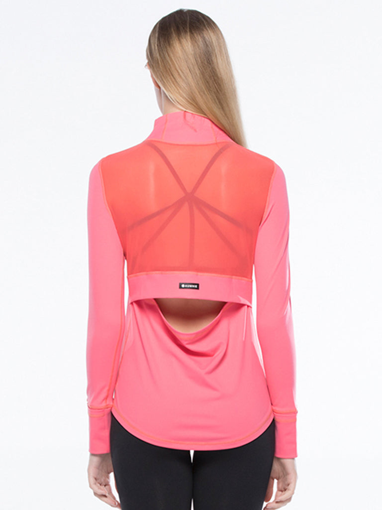 AIR JACKET, WATERMELON/PINK MESH