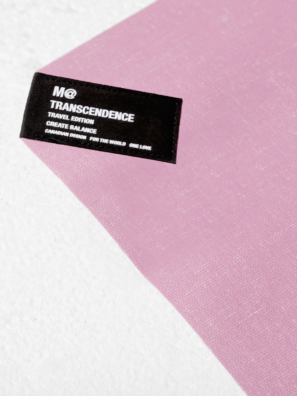 M@ TRANSCENDENCE, FOLDABLE TRAVEL MAT, PINK
