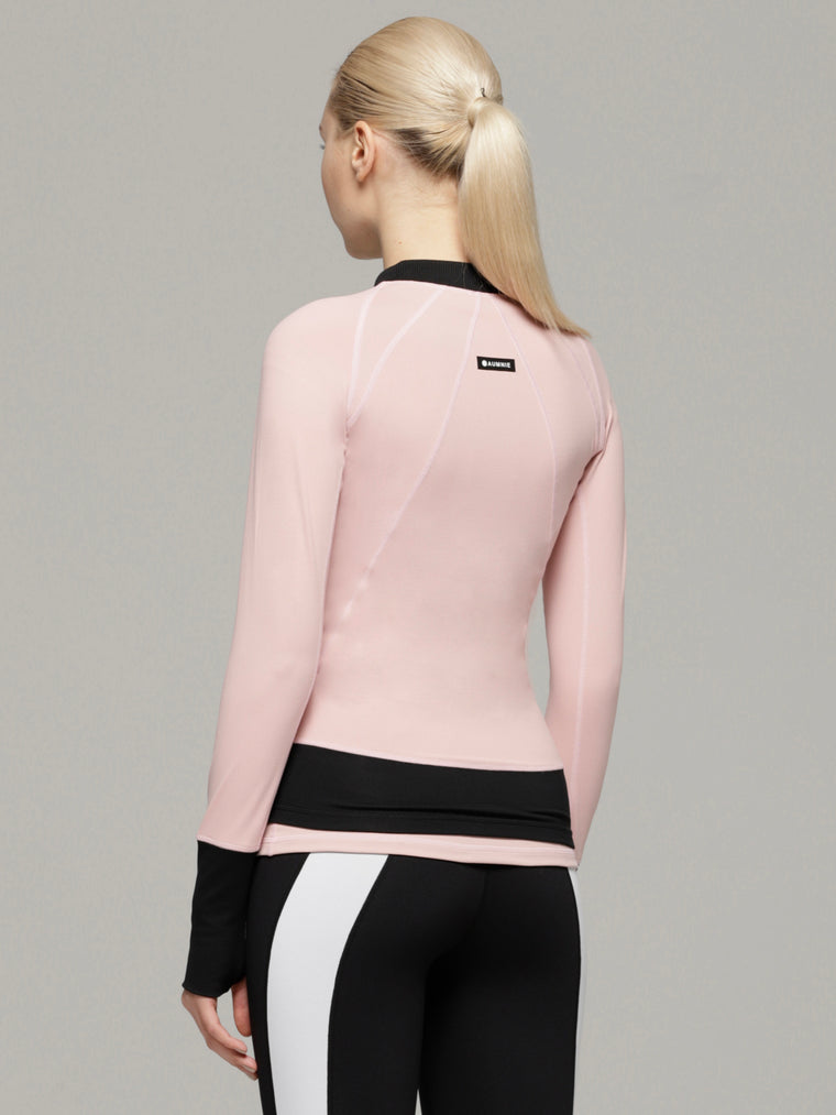 LANE JACKET 2.0, BLUSH/BLACK