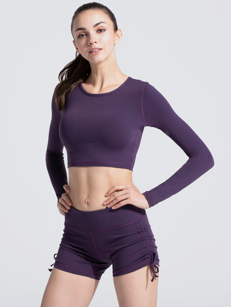 LONG SLEEVE CROPPED TEE, PALACE