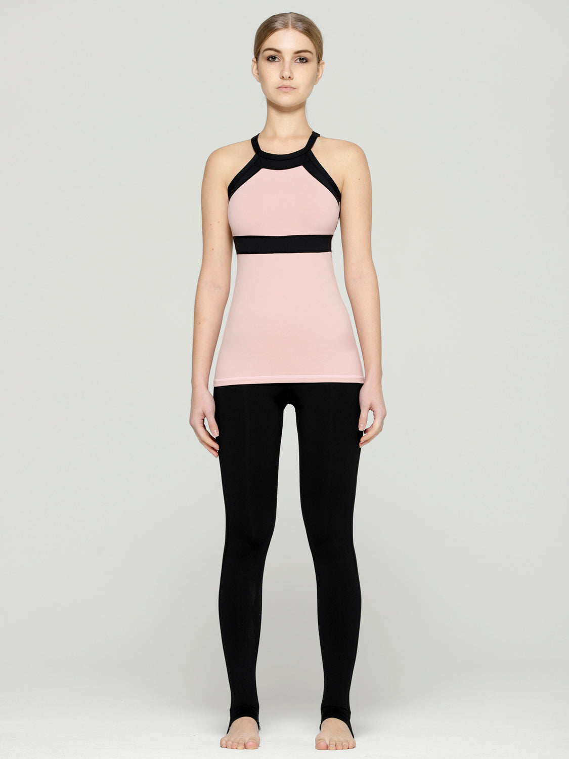 TENDENCY TANK, BLUSH/BLACK