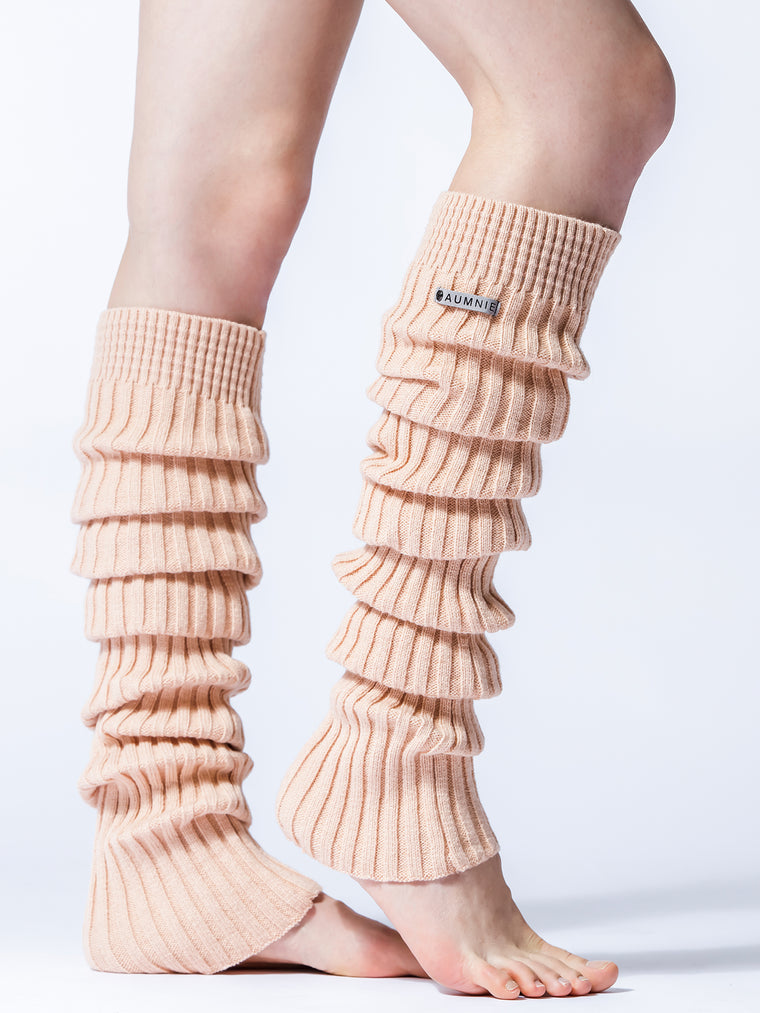 KNEE HIGH LEG-WARMERS, CHAI