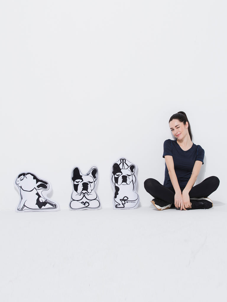 FRENCHIE YOGA CUSHION SET