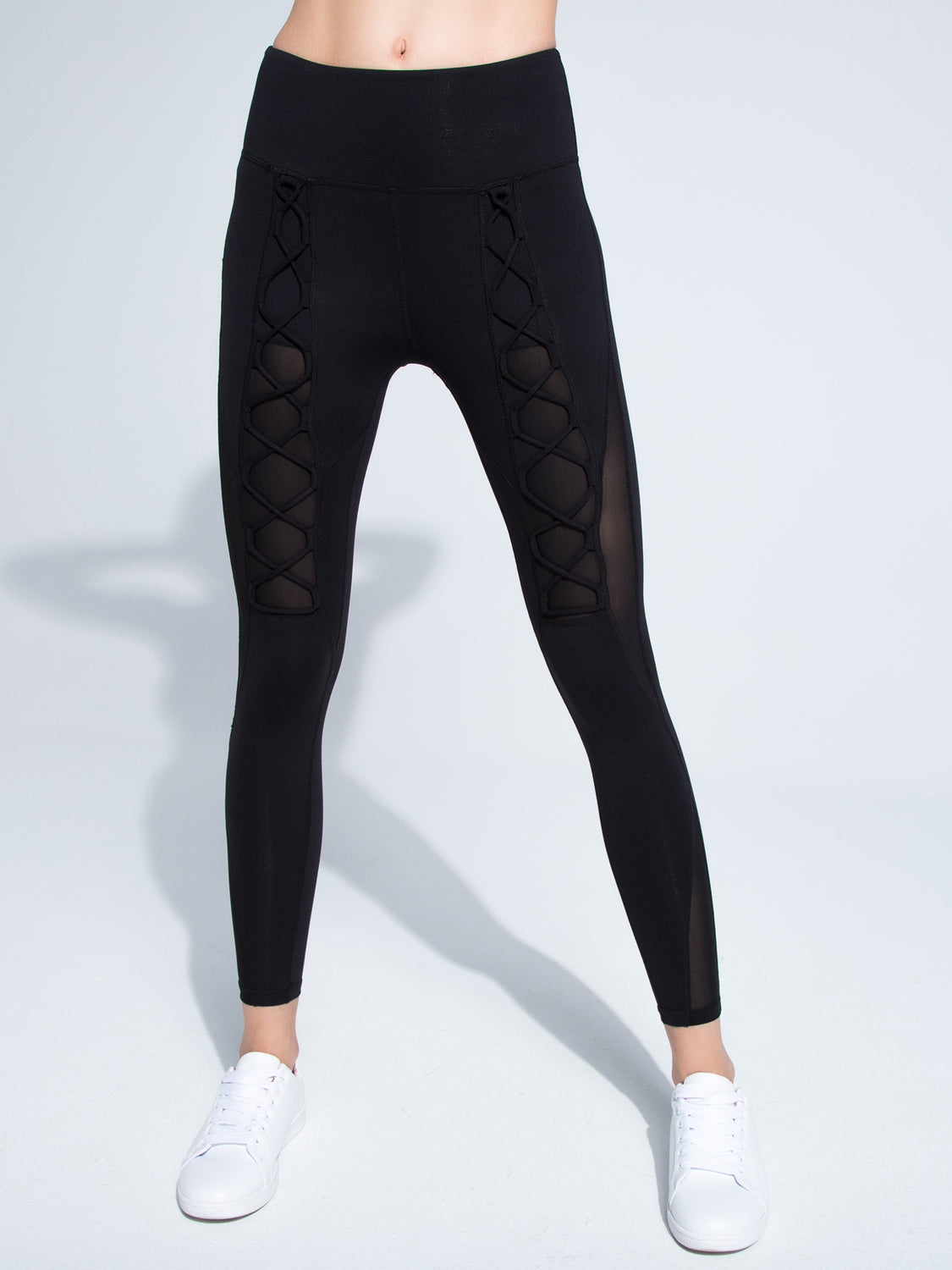 VORTEX PANTS, BLACK/BLACK MESH