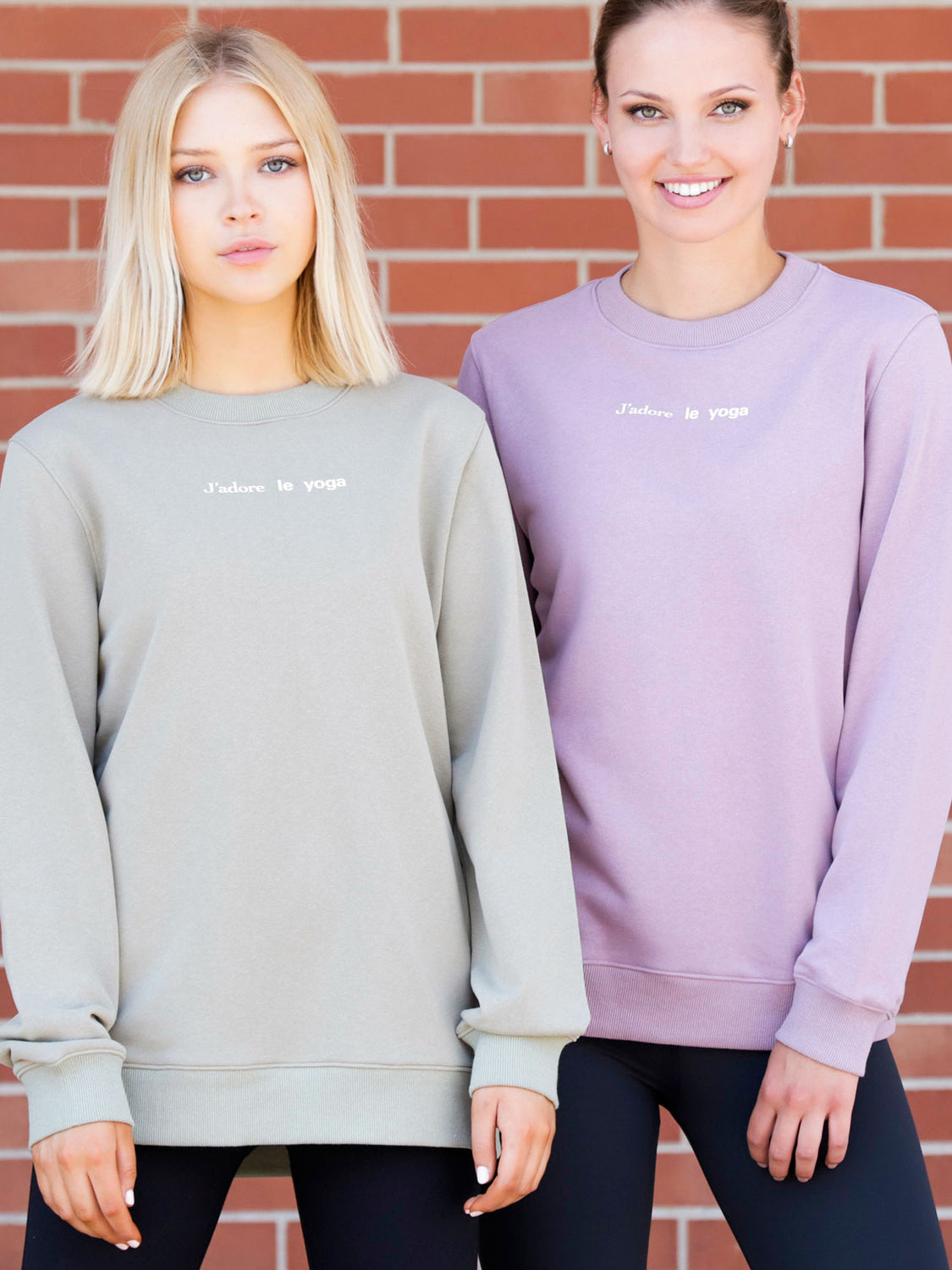 FRENCH YOGA SWEATSHIRT, PURPLE