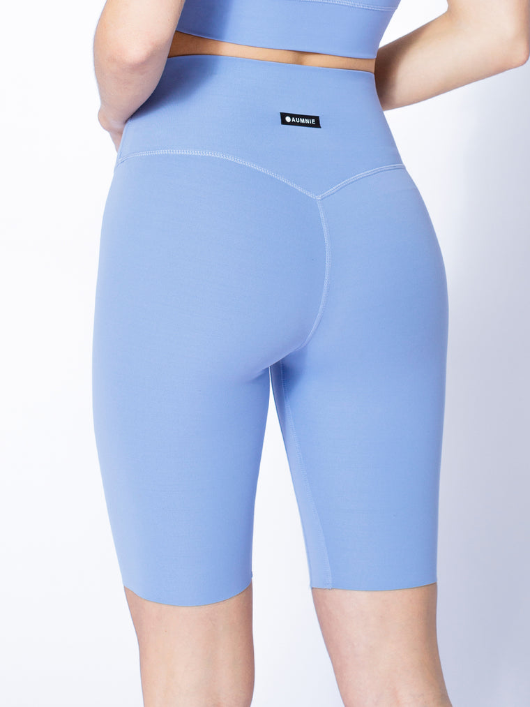 NUDE SHAPE BIKER SHORTS, VIVID BLUE