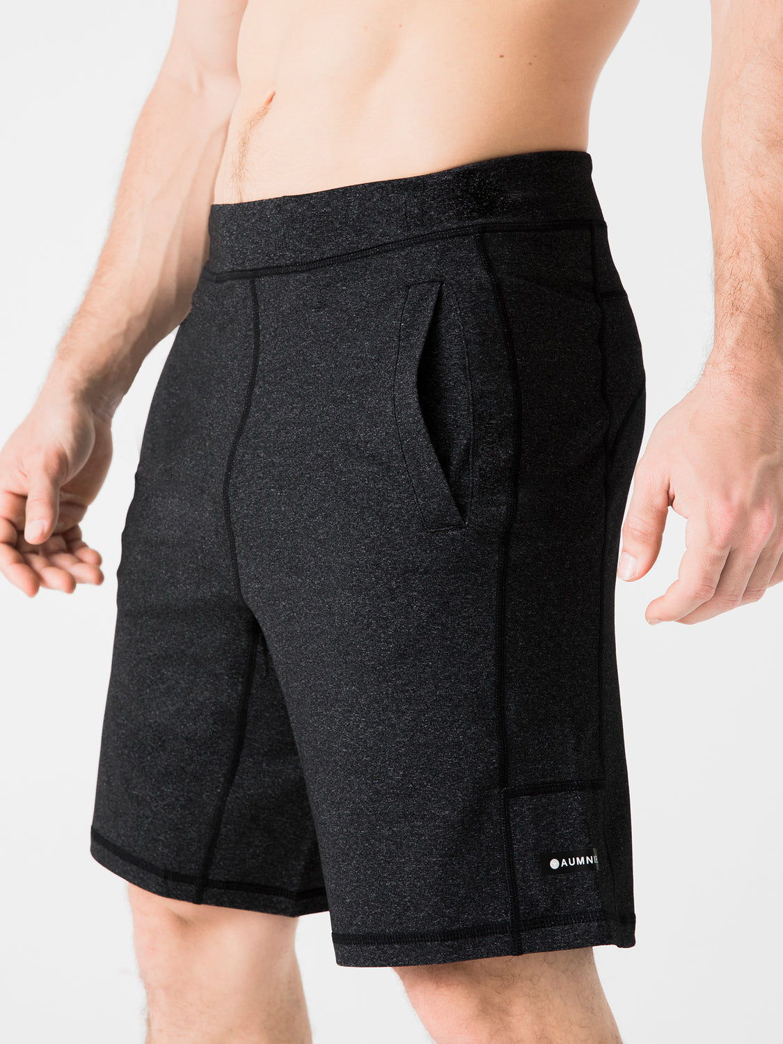 SPEED SHORTS, HEATHER GREY