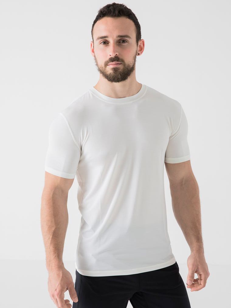 ATHLETE TEE, WHITE WFX
