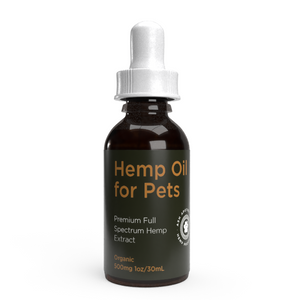 500mg Organic Full Spectrum Hemp Oil for Pets