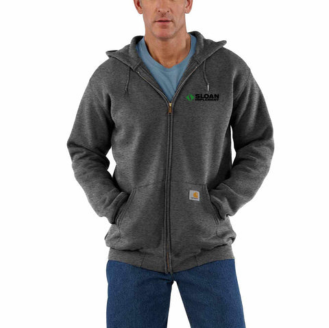 Sloan Implement - Carhartt Hooded Sweatshirt