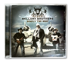 "CD ""Simply the Best"" mit Bellamy Brothers"