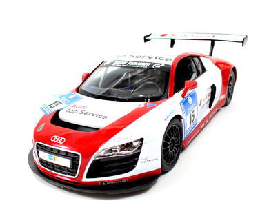 1:14 Audi R8 LMS Performance Model with LED Lights Red