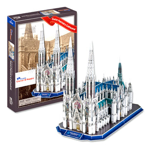 St. Patrick's Cathedral 3D Puzzle 117 Pieces