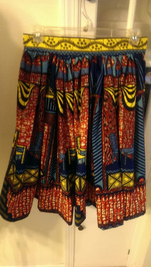 Pick YOUR Print Skirt Gathered Waist Flowing Maxi Length