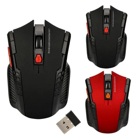 Wireless Optical Positioning Gaming 1200 DPI 6 Button Mouse