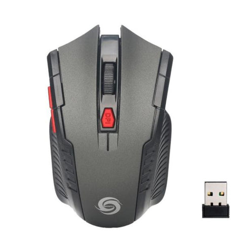 Image of Wireless Optical Positioning Gaming 2000 DPI 6 Button Mouse