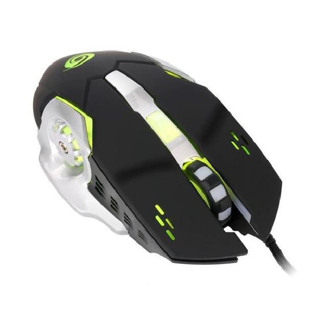 Wired Optical Positioning Gaming Adjustable 3200 DPI 6 Button Mouse