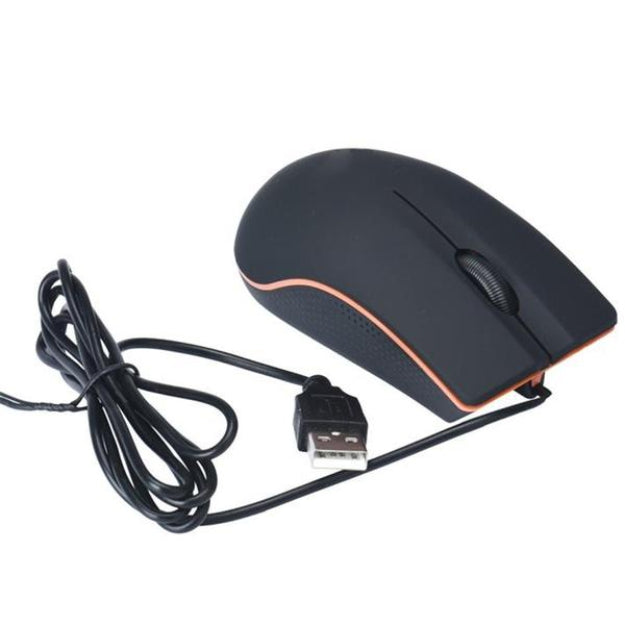 Wired Optical Positioning Gaming 1200 DPI 3 Button Mouse