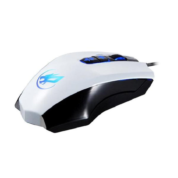 Wired Optical Positioning Gaming 3200 DPI 7 Buttons LED Glowing Mouse