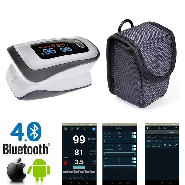 Bluetooth Finger Pulse Oximeter