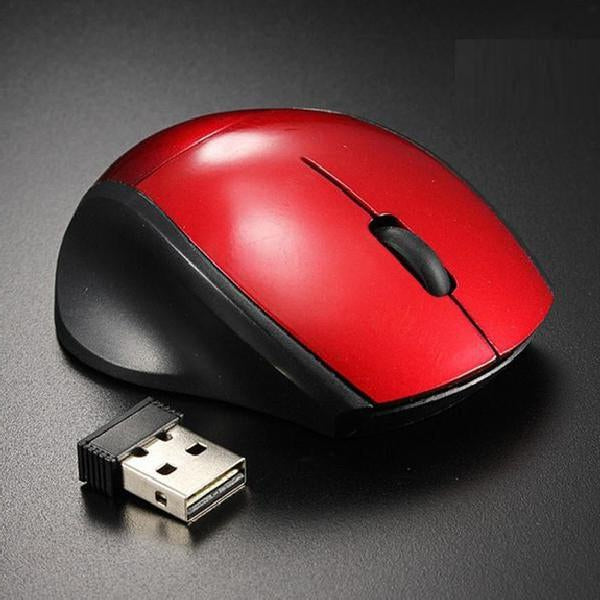 Wireless Gaming Optical Positioning 3 Button 2000 DPI Mouse