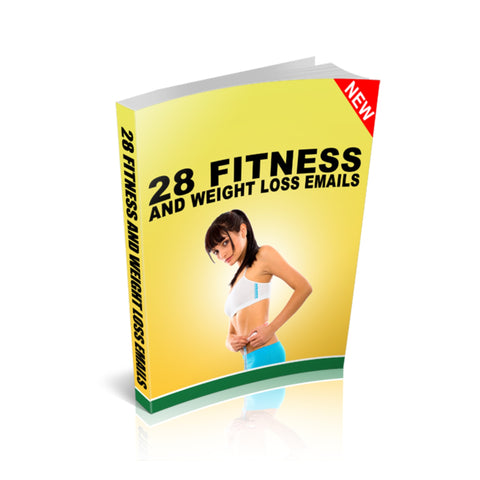 28 Fitness and Weight Loss Emails Ebook