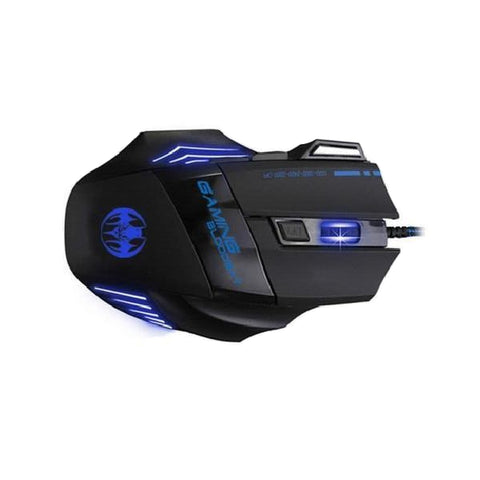 Wired Optical Positioning Gaming 3200 DPI 7 Button LED Glowing Mouse