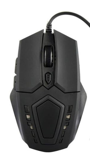 Wired Gaming Optical Positioning 3200 DPI 6 Button LED Glowing Mouse