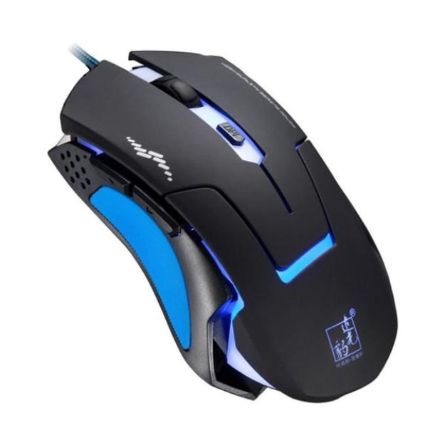 Wired Gaming Optical Positioning 6 Button 3200 DPI LED Mouse