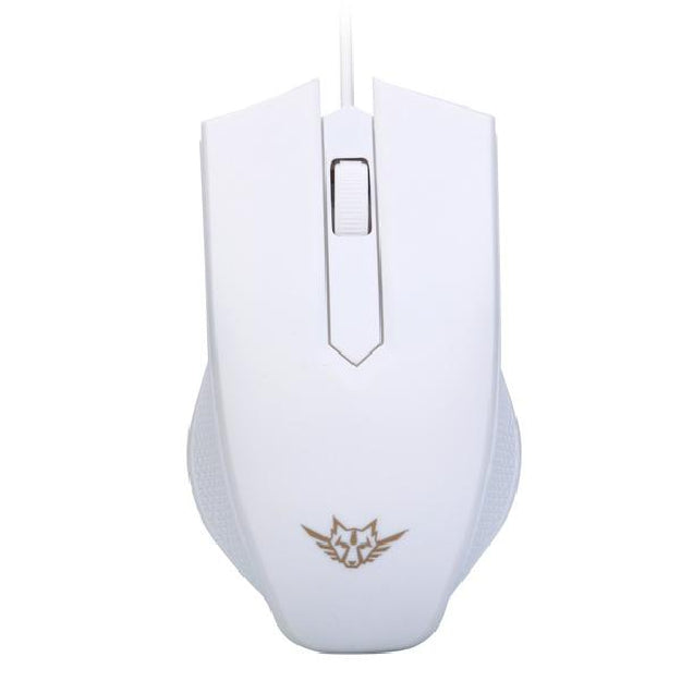 Wired Gaming Optical Positioning 1200 DPI 2 Button Mouse