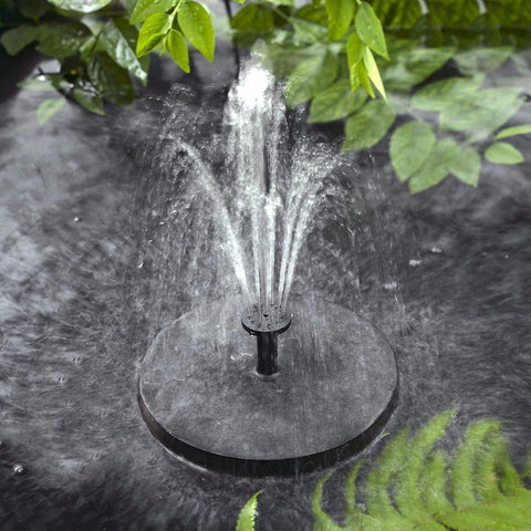 Image of Solar-powered Easy Bird Fountain Kit