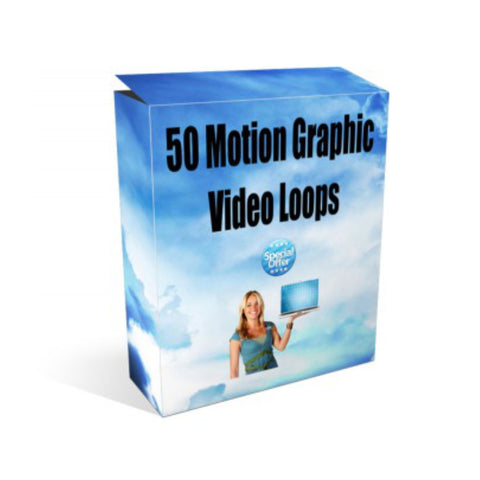 50 Motion Graphic Video Loops Video Guide