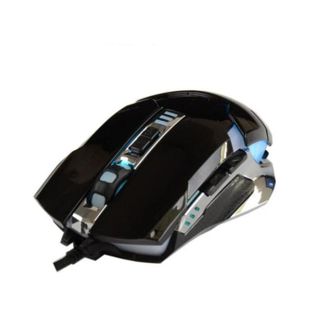 Wired Gaming Optical Positioning 3200 DPI 6 Buttons LED Glowing Mouse