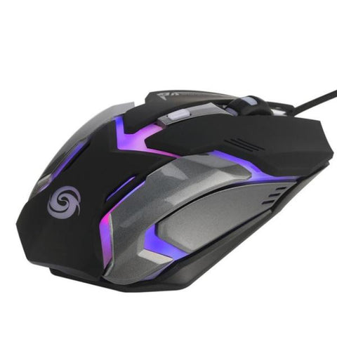 Image of Wired Gaming Optical Positioning 3200 DPI 6 Button LED Glowing Mouse