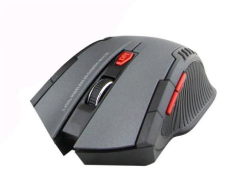 Wireless Optical Positioning Gaming 6 Button 2400 DPI Mouse