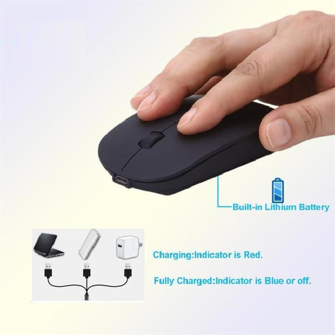 Image of Wireless Gaming Super Slim 1600 DPI 2 Button Mouse