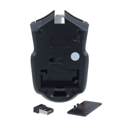 Image of Wireless Optical Positioning Gaming 6 Button 2400 DPI Mouse