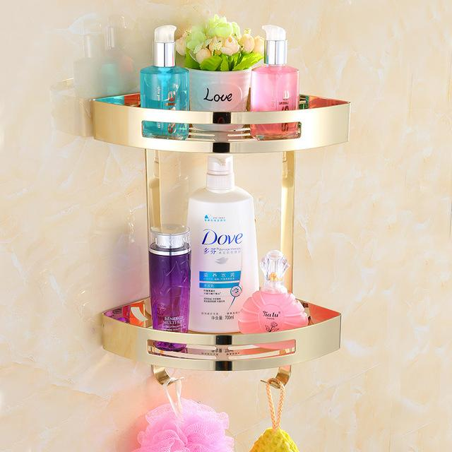 Shower Caddy Stainless Steel Corner Shelves