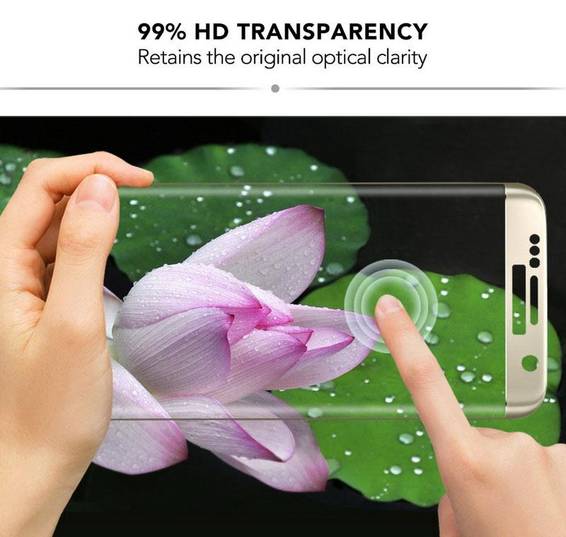 6D Full Cover Tempered Glass For Samsung