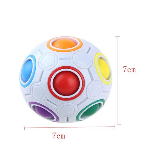 Image of Rainbow Puzzle Ball