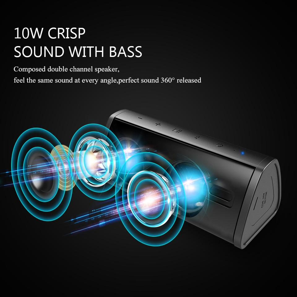 Waterproof Bluetooth Stereo Music Speakers