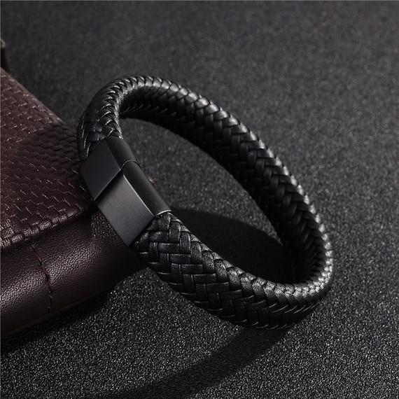 Luxury Braided Leather Bracelet