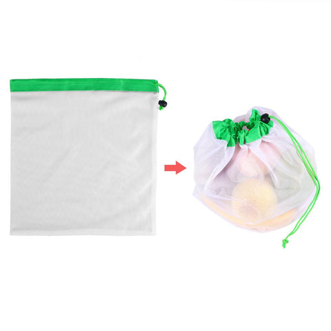 Waste Free Reusable Produce Bags (12 PCS)