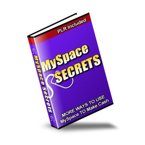 MySpace Secrets Ebook