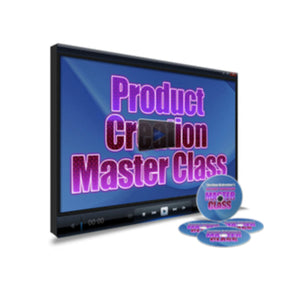 Product Creation Master Class Video Guide