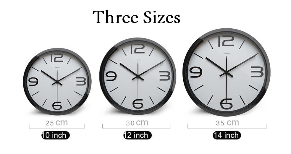 Foot Print High Definition Print Silver Frame Quartz Wall Clock