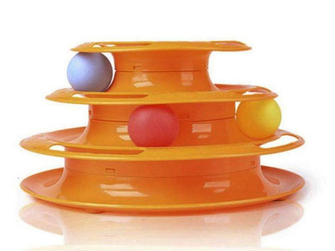 Image of Tower of Tracks Cat Toy