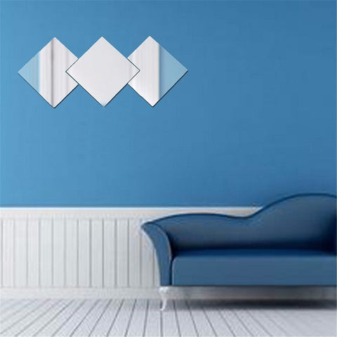 Image of Tiles Wall Mirror Stickers